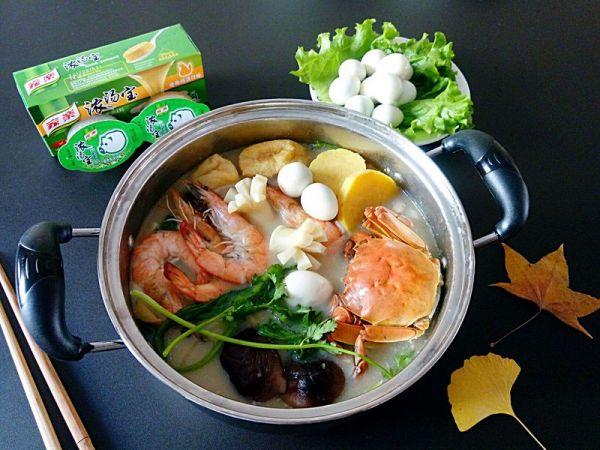 海鲜什锦芝士火锅的做法