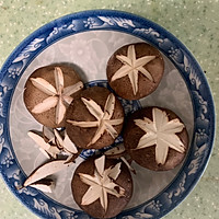 香菇油菜#秋天怎么吃#的做法图解1