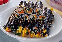 #321沙拉日#迷你紫菜包饭|简单可爱便当的做法