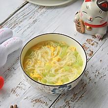 9+宝宝辅食黄瓜鸡蛋面