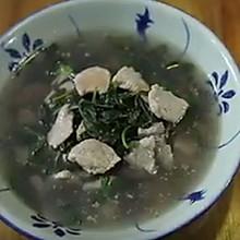 瘦肉枸杞叶汤