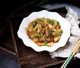 蚝油海米冬瓜条的做法