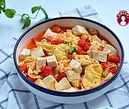 #我要上首焦# 素烧鸡蛋番茄豆腐的做法