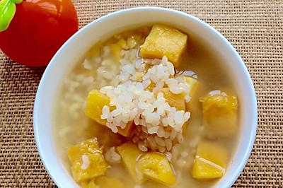 糙米红薯甜汤~纤维多多