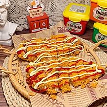 #一勺葱伴侣,成就招牌美味#秘制低脂减肥餐:酱香无油炸鸡排