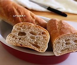 液种全麦法式面包的做法