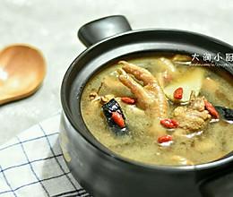 增抗体-胡麻灵芝鸡汤#月子餐吃出第二春#的做法