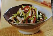 芥菜拌豆干的做法