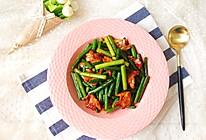 蒜苔炒肉片的做法