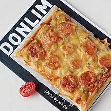 酸甜鸡肉披萨