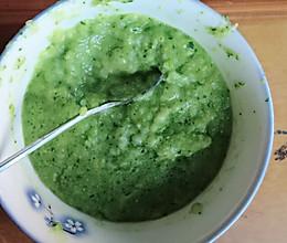 青菜玉米糊糊的做法