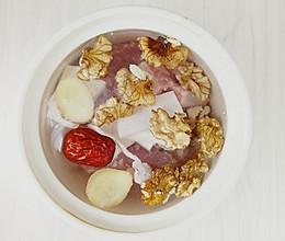 核桃排骨汤,月子快速补充营养的做法