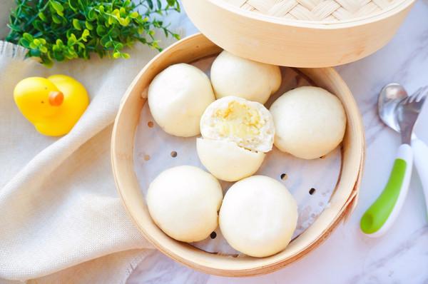 香甜奶黄包·辅食的做法