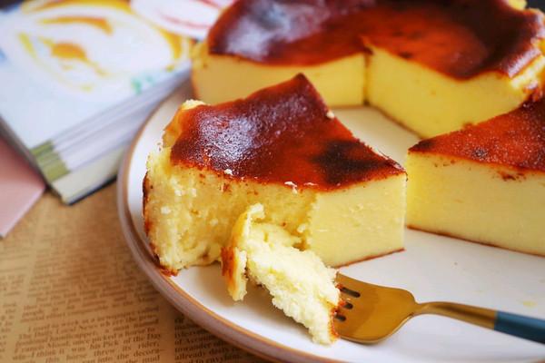 巴斯克芝士蛋糕❗不用淡奶油,健康酸奶版