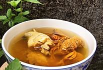 姬松茸灵芝虫草花鸡汤的做法