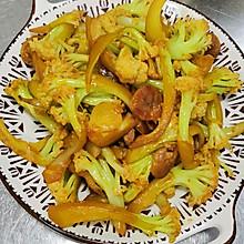 少油版干锅花菜