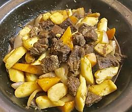 山药焖牛肉的做法