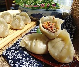北京牛肉馅烫面蒸饺#蔚爱边吃边旅行#的做法