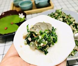鲜掉眉毛的荠菜水饺(荠菜虾肉水饺)的做法