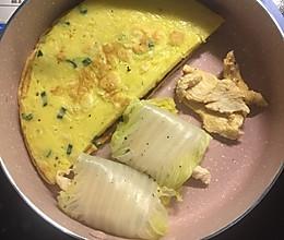 鸡胸肉白菜卷的做法