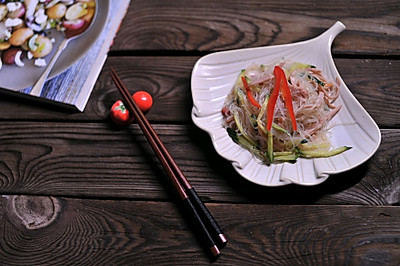 #爽口凉菜,开胃一夏!#粉丝沙拉