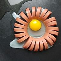 早餐香肠煎蛋的做法图解5