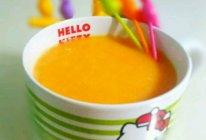 胡萝卜米糊浓汤的做法