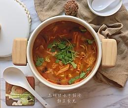 非典型冬阴功味的牛筋汤的做法