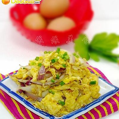 洋葱炒鸡蛋---春季美食