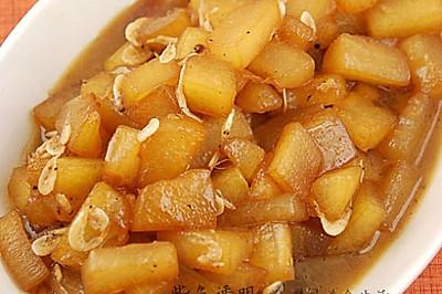 虾皮蚝油烧冬瓜
