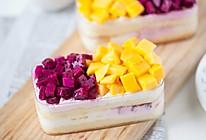 水果冰淇淋奶油盒子蛋糕的做法