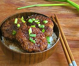 酱香煎猪排盖饭的做法