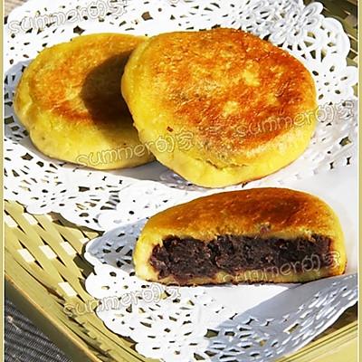 健康瘦身—豆沙红薯饼