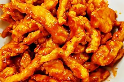 糖醋里脊——鸡胸肉版