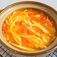 鲜美开胃: 风味西红柿杂菇汤的做法图解14