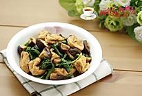 木耳菜香菇豆腐泡的做法