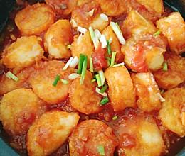 茄汁嫩豆腐的做法