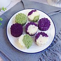 紫薯山药糕的做法图解12
