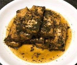 香椿油豆腐的做法