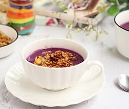 紫薯山药红枣米糊的做法