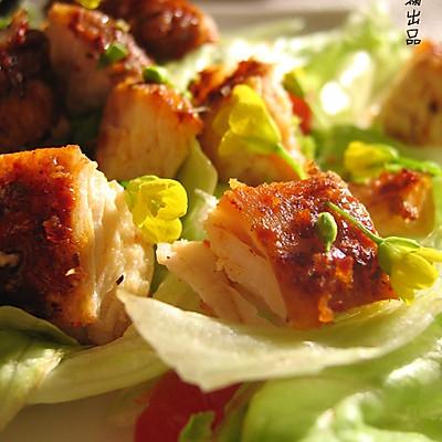 意式烤鸡肉沙拉