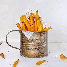 香草烤红薯条(空气炸锅版)