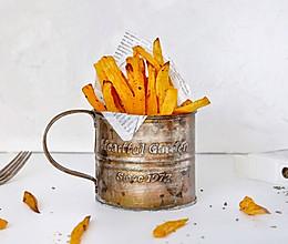 香草烤红薯条(空气炸锅版)的做法