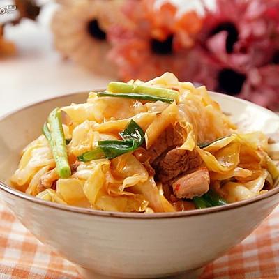 红油卷心菜