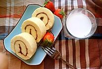 草莓蛋卷的做法