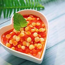 #一人一道拿手菜#快手减脂——茄汁玉米