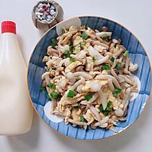 双菇滑蛋#合理膳食 营养健康进家庭#