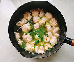 紫菜虾滑汤的做法