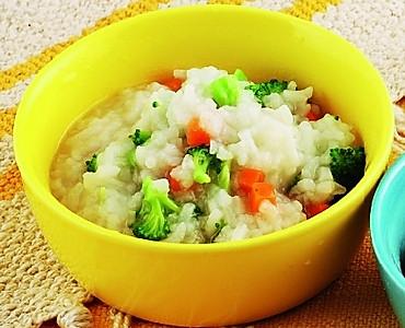 蔬菜虾仁粥的做法