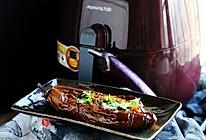 九阳空气炸锅I7试用——香辣肉酱烤茄子的做法